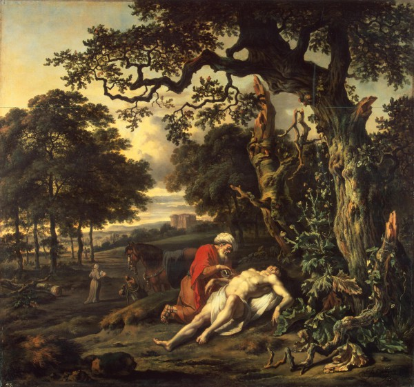 Jan WIjnant's 'Parable of the Good Samaritan'.